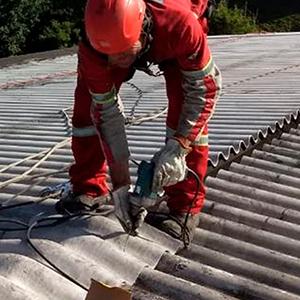 Manutenção de Telhas de Concreto